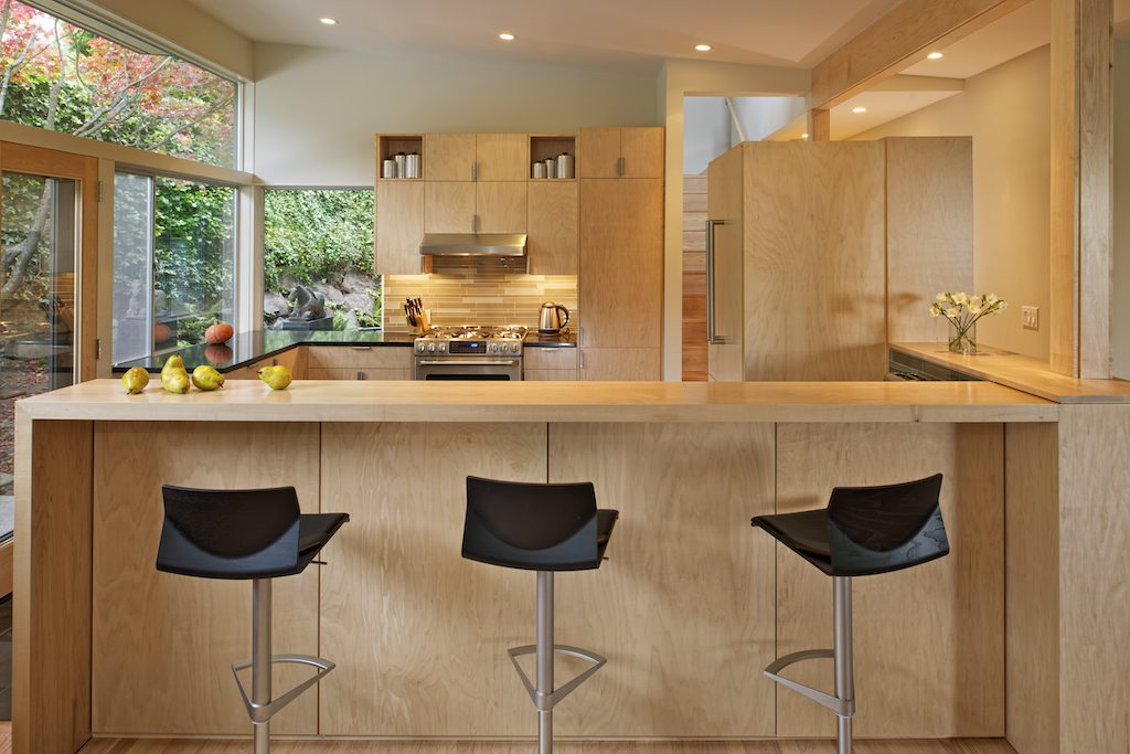 contemporary second story addition modern kitchen | CTA Design Builds | Seattle Architects