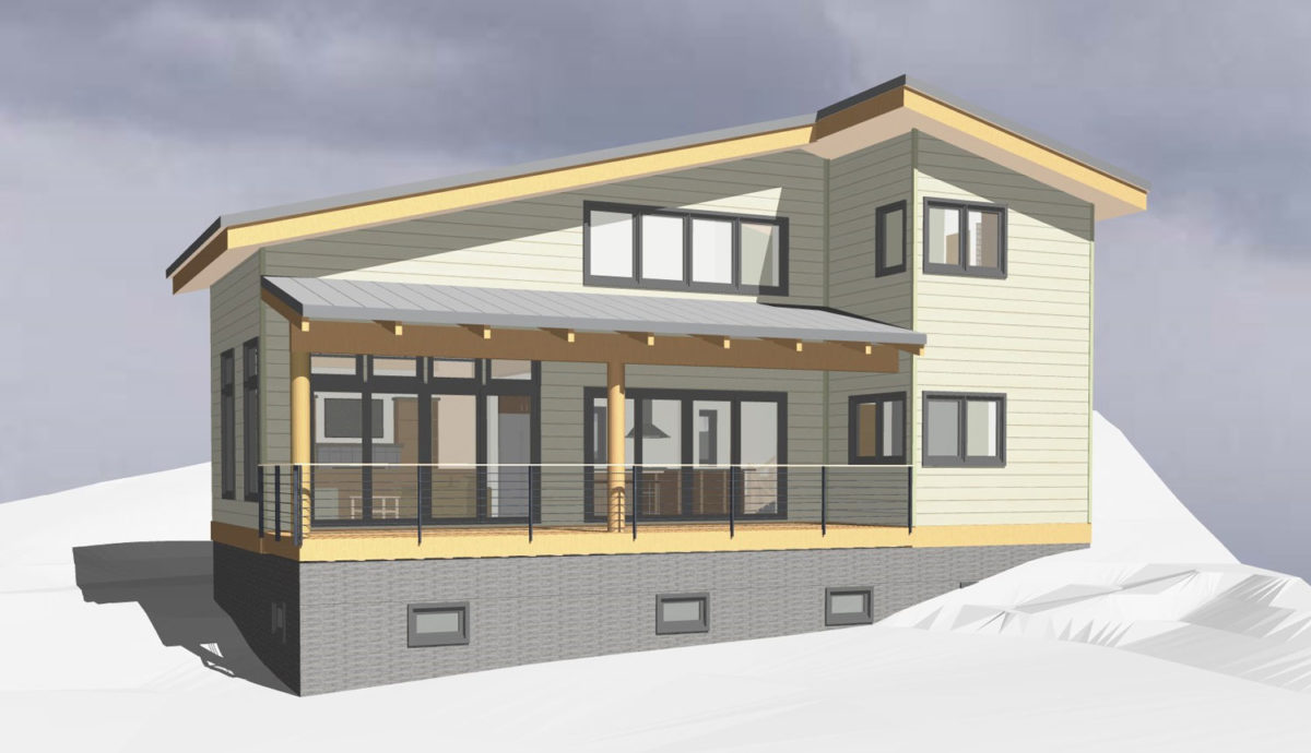 Mountain Ski Cabin - Seattle Architects - CTA Design Builders - Transitional, New Home