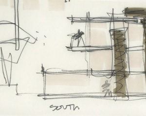 CTA Design Build | Kirkland Compound Napkin Sketch