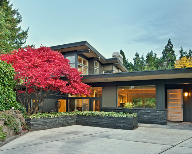 mid century modern remodel seattle | CTA Design Builds | Seattle Architects