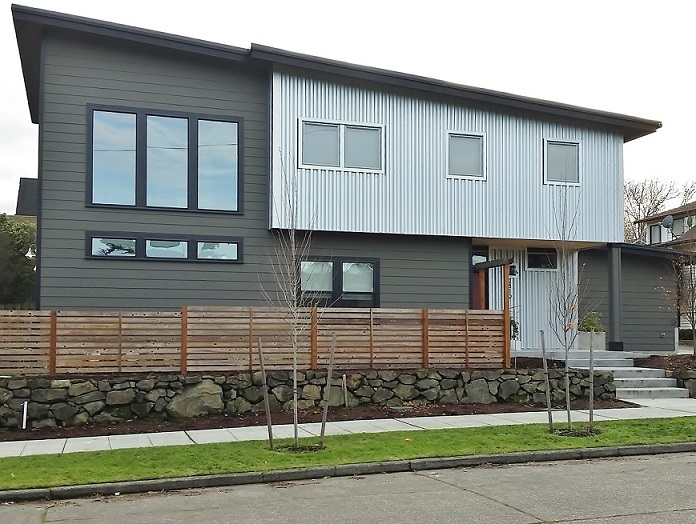 Contemporary House- Seattle Architects - CTA Design Builders - Contemporary, New Home