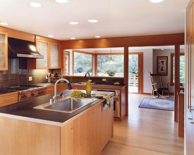 Richlite kitchen Design CTA DEsign Build