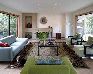 Blue Ridge Living Room | CTA Design Builders