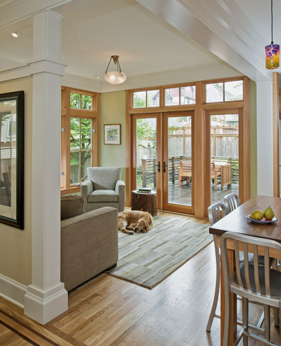 Queen anne four square redux cta design builders for American remodeling