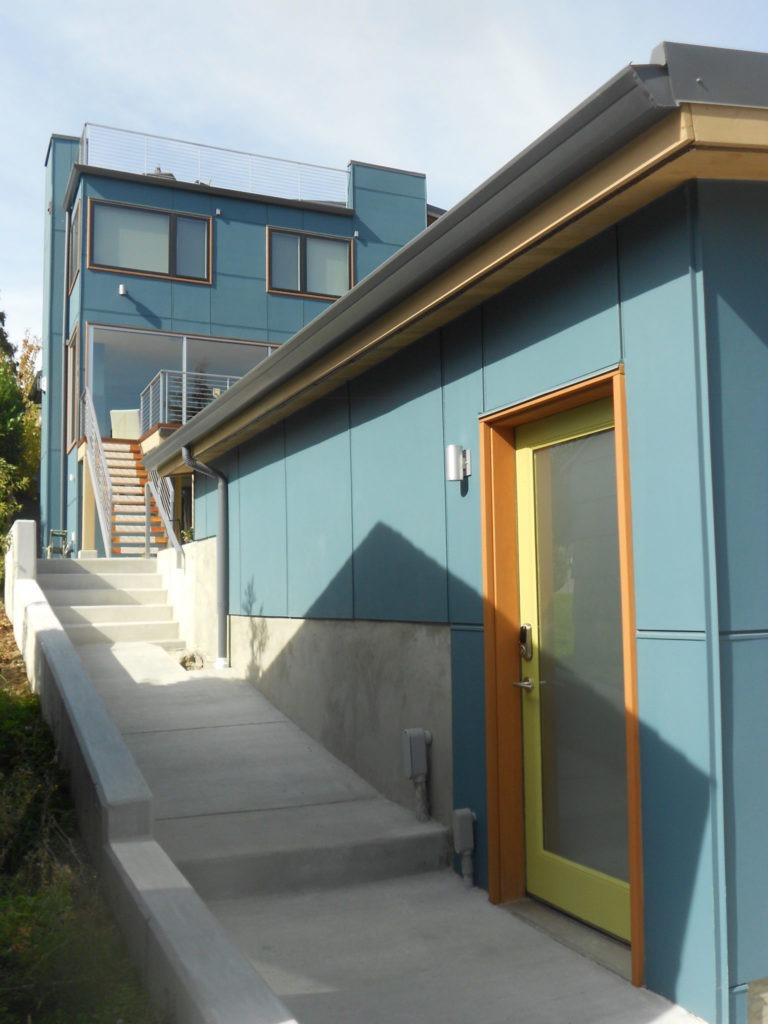 contemporary view ridge second story addition house | CTA Design Builds | Seattle Architects
