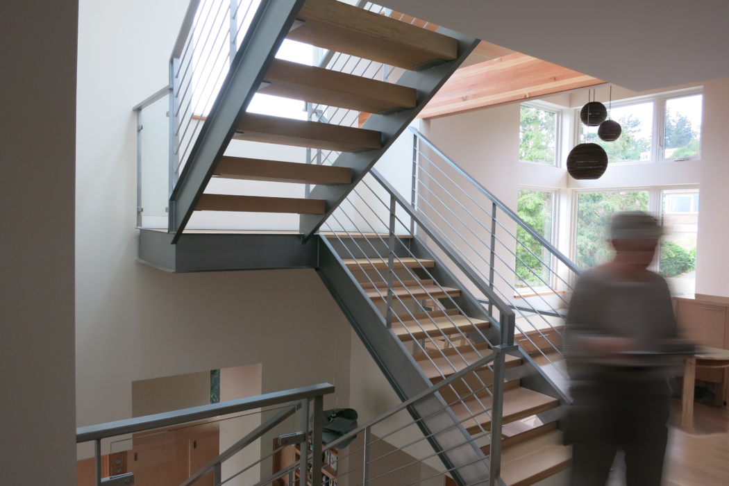 contemporary view ridge second story addition house   CTA Design Builds   Seattle Architects