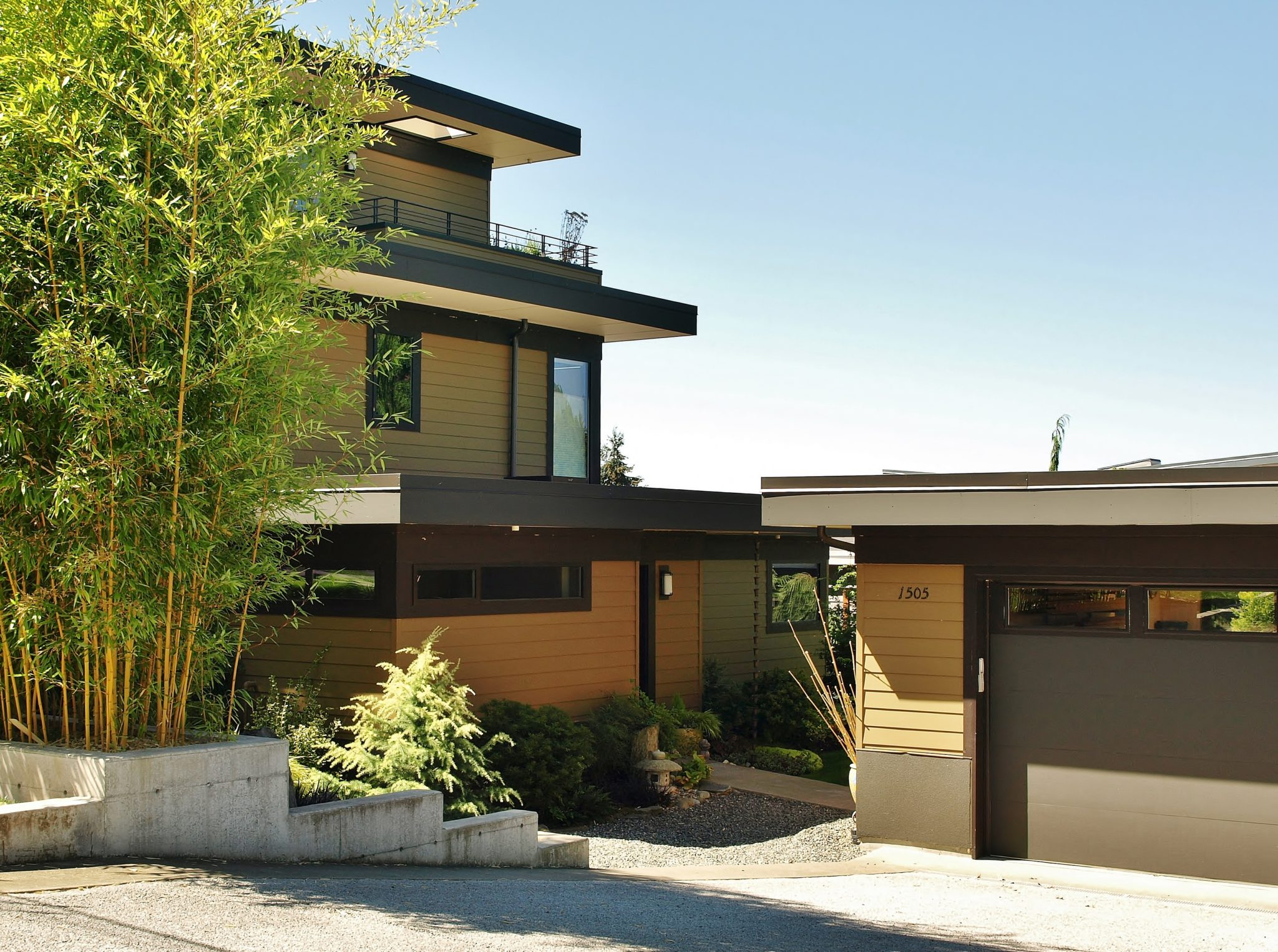 kirkland contemporary home exterior | CTA Design Builds | Seattle Architects