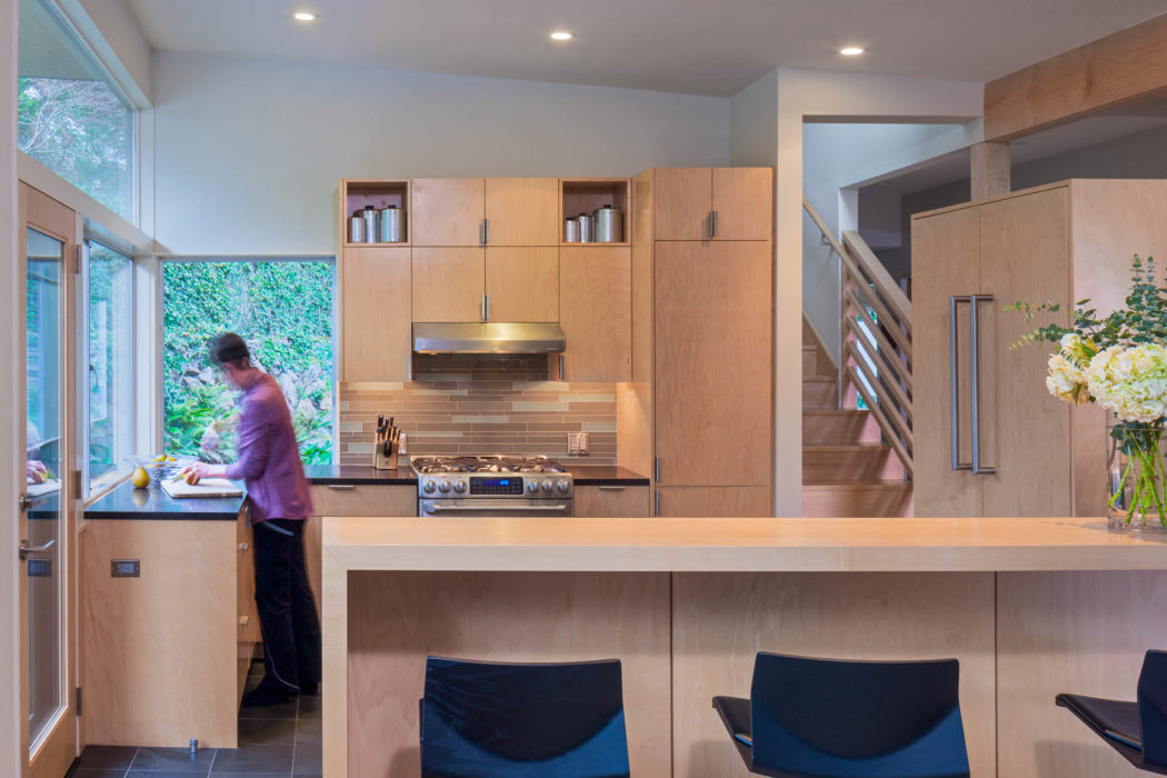 contemporary second story addition kitchen | CTA Design Builds | Seattle Architects