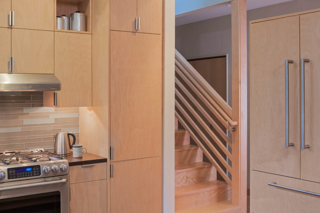 contemporary second story addition kitchen   CTA Design Builds   Seattle Architects
