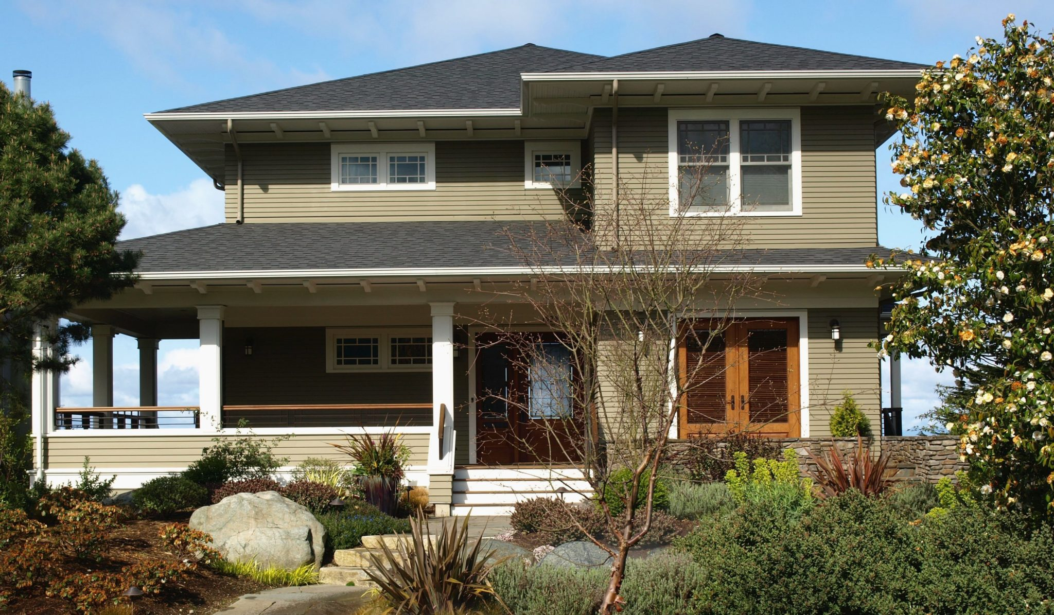 Traditional New Craftsman House - Seattle Architects - CTA Design Builders - Transitional, New Home