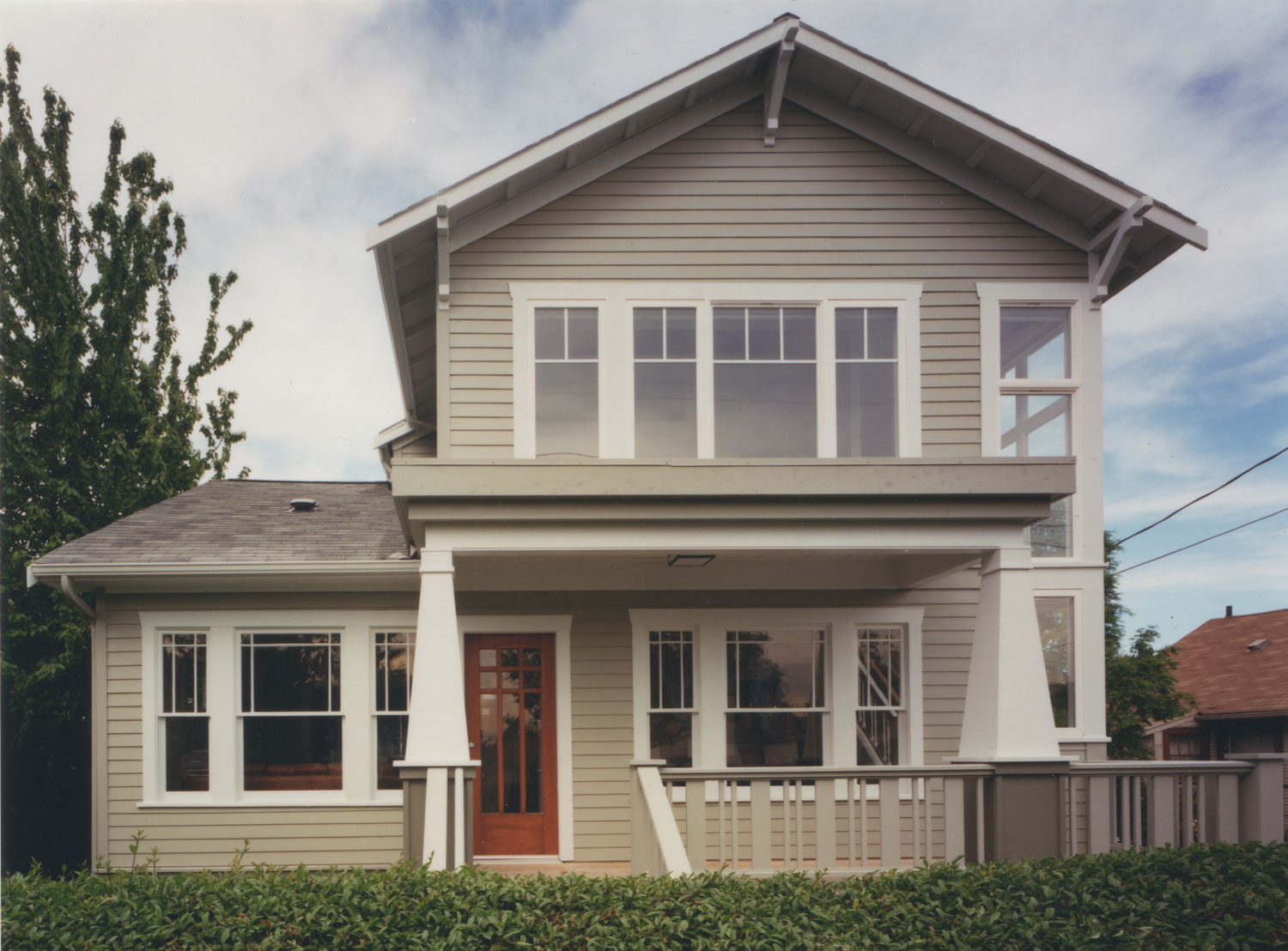 Craftsman Second Story - Seattle Architects - CTA Design Builders - Transitional, Addition, Remodel