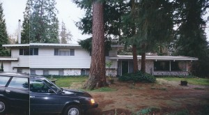 1963 Spec house before remodel.