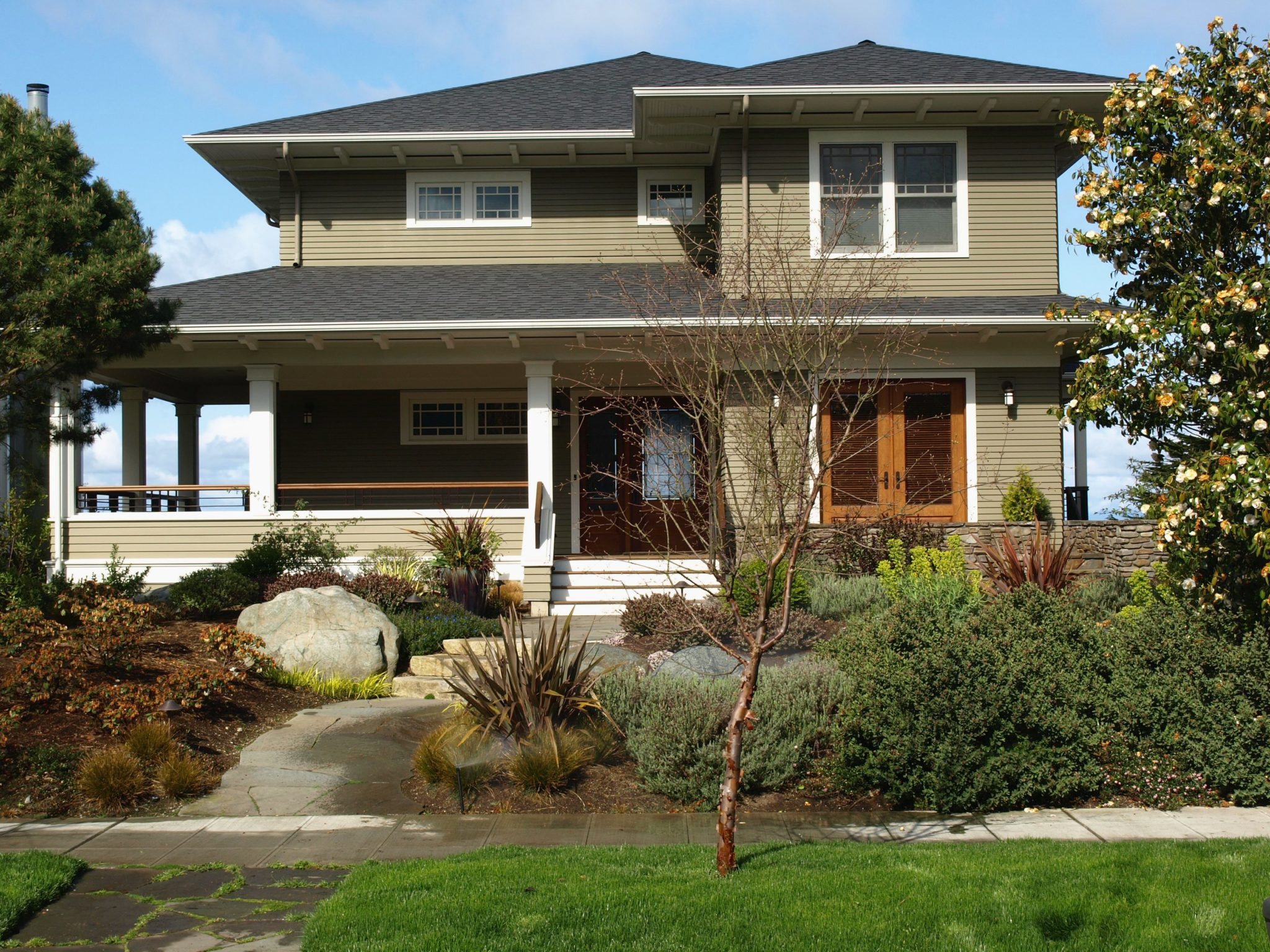 This New Home Was Inspired By The Stately Old Homes On Queen Anne In  Seattle.