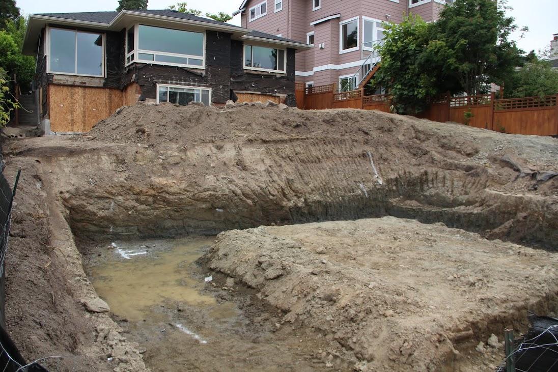 garage excavation