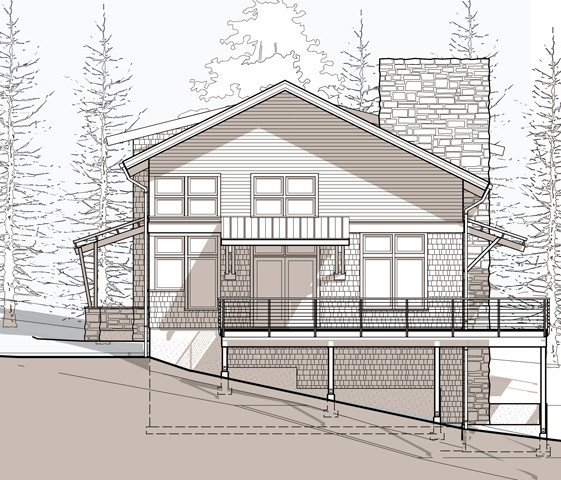 kingston house and garage traditional craftsman architecture | CTA Design Builds | Seattle Architects
