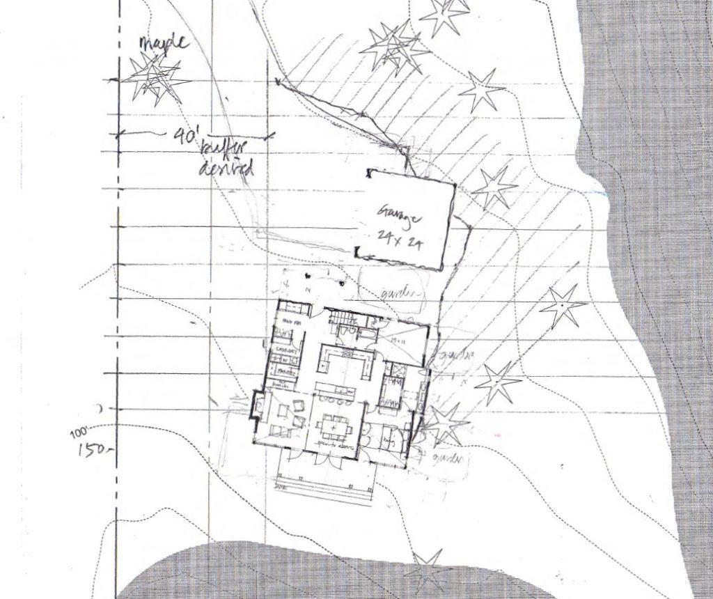 bainbridge island farm house architecture sketches | CTA Design Builds | Seattle Architects