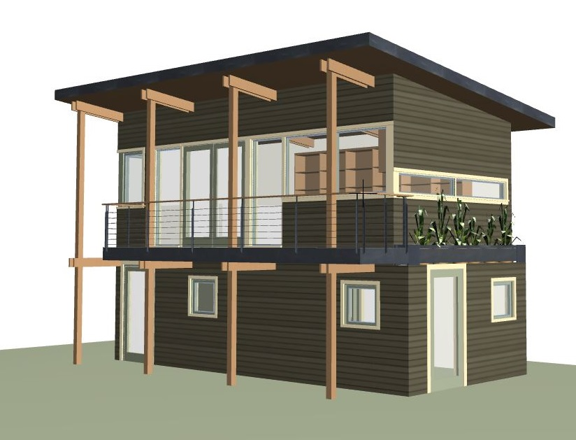 seattle dadu traditional small scale living | CTA Design Builds | Seattle Architects