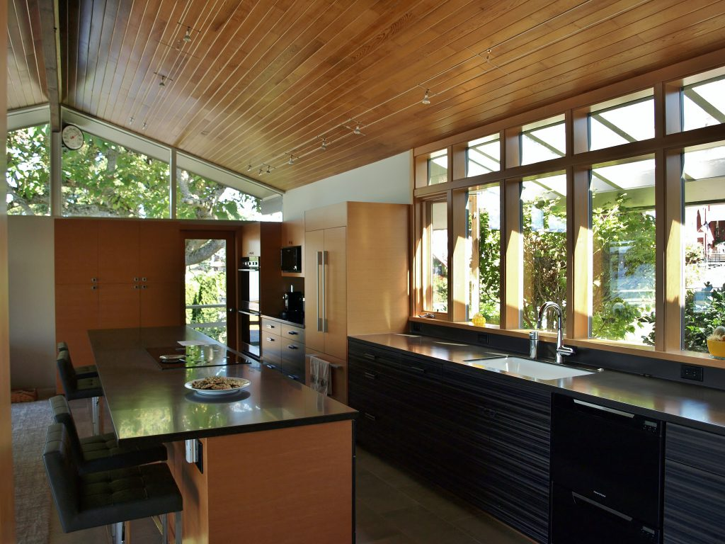 Mid-century kitchen with modern updates