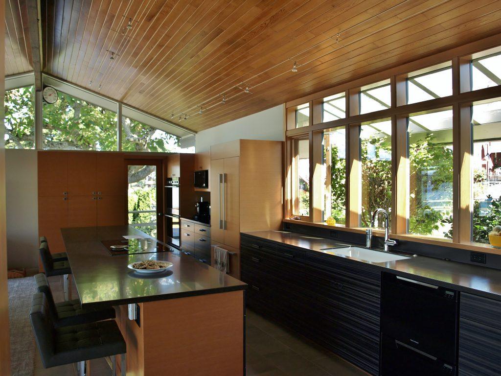 Mid-century kitchen with modern updates