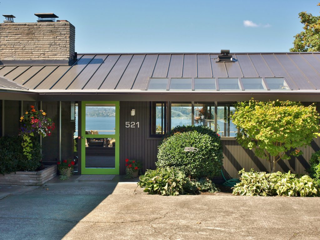 kirkland mid century modern home exteriors