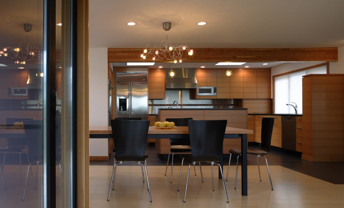 Rambler Remodel kitchen and dining - Seattle Architects - CTA Design Builders - Mid-Century, Northwest, Remodel