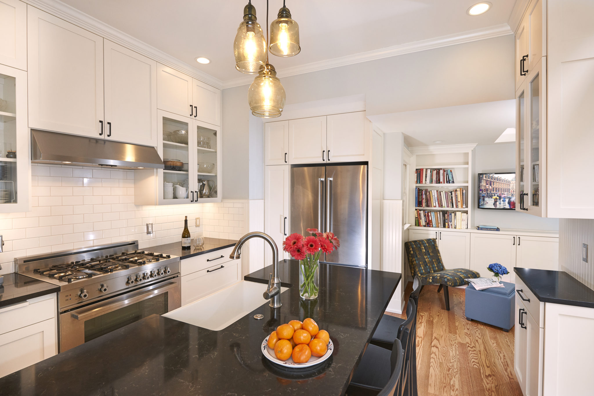 finished photos of the queen anne kitchen remodel cta design builders