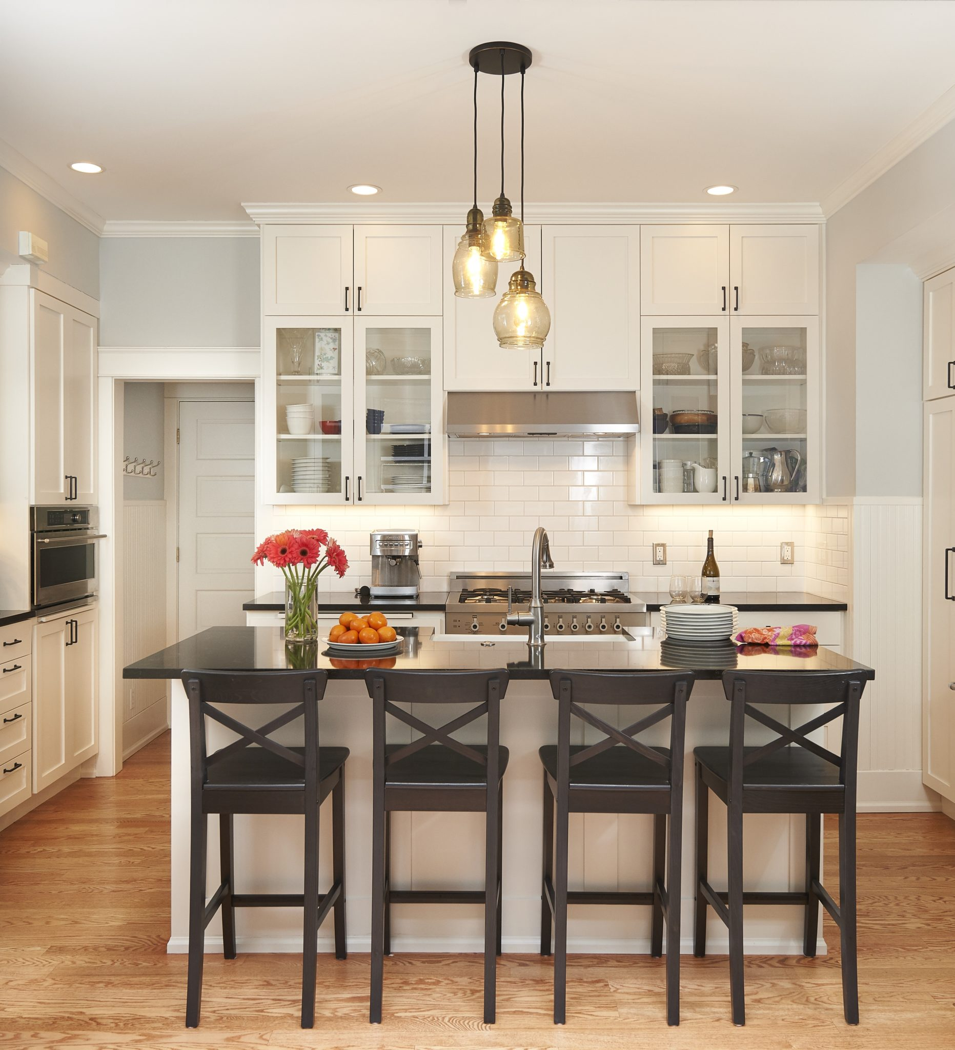 Traditional Kitchen Remodel - Seattle Architects - CTA Design Builders - Transitional, Remodel