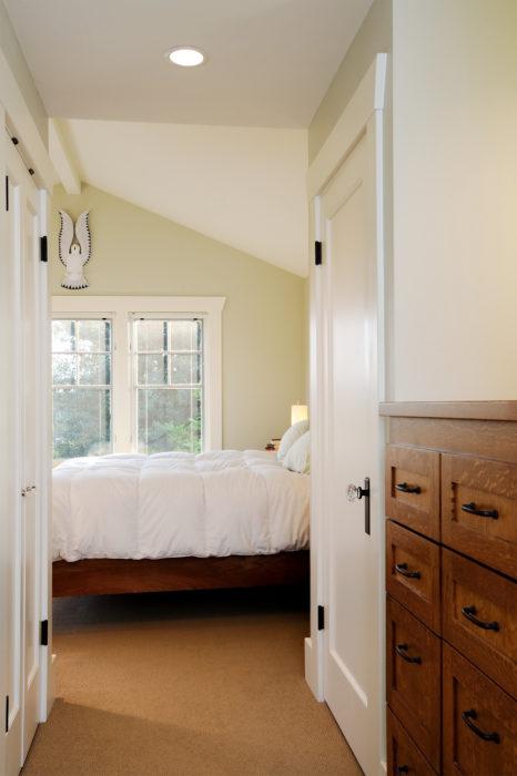contemporary craftsman bedroom new addition