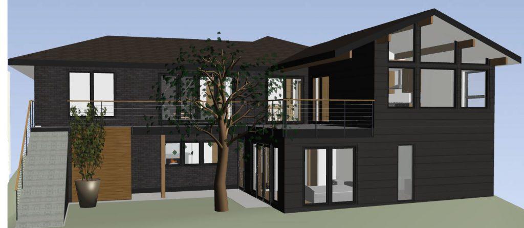 mid century modern exteriors