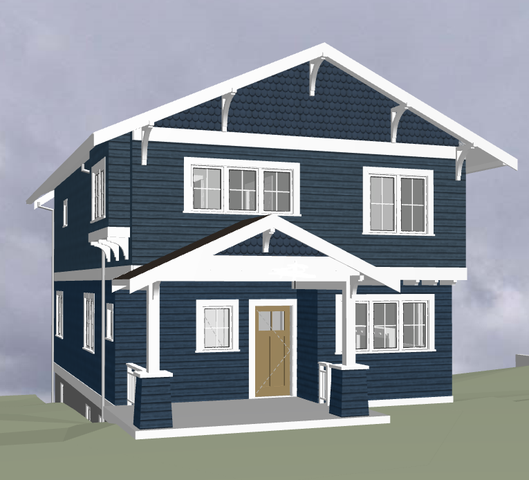 updated craftsman bungalow