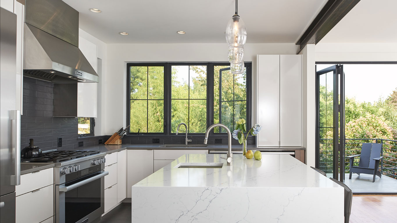 Modern Classic Remodel - Seattle Architects - CTA Design Build - Transitional, Contemporary, Addition, Remodel