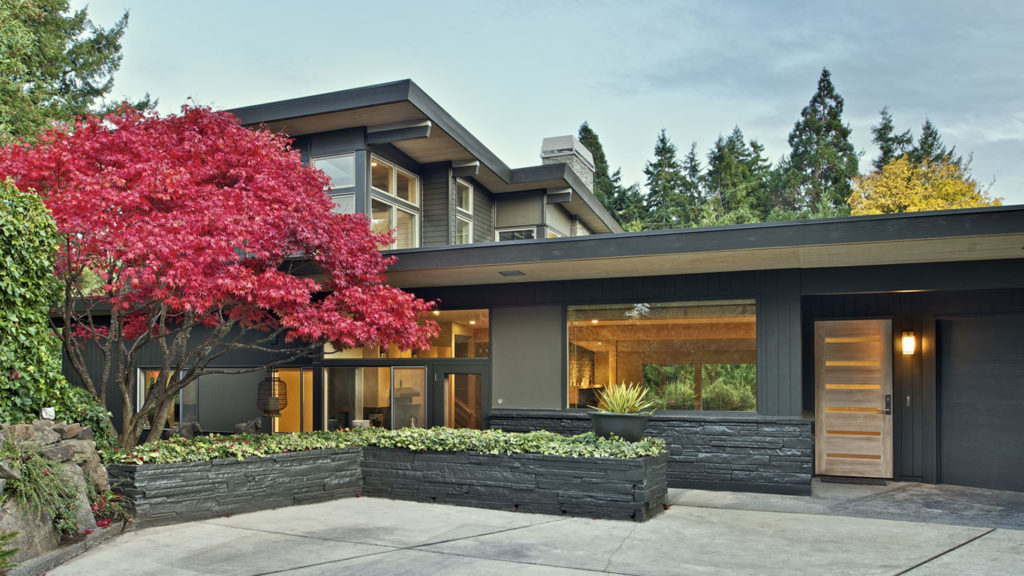 Mid-Century Remodel- Seattle Architects - CTA Design Build - Mid-Century, Transitional, Addition