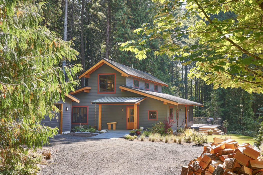 Bainbridge Island Farmhouse - Exterior, Entrance