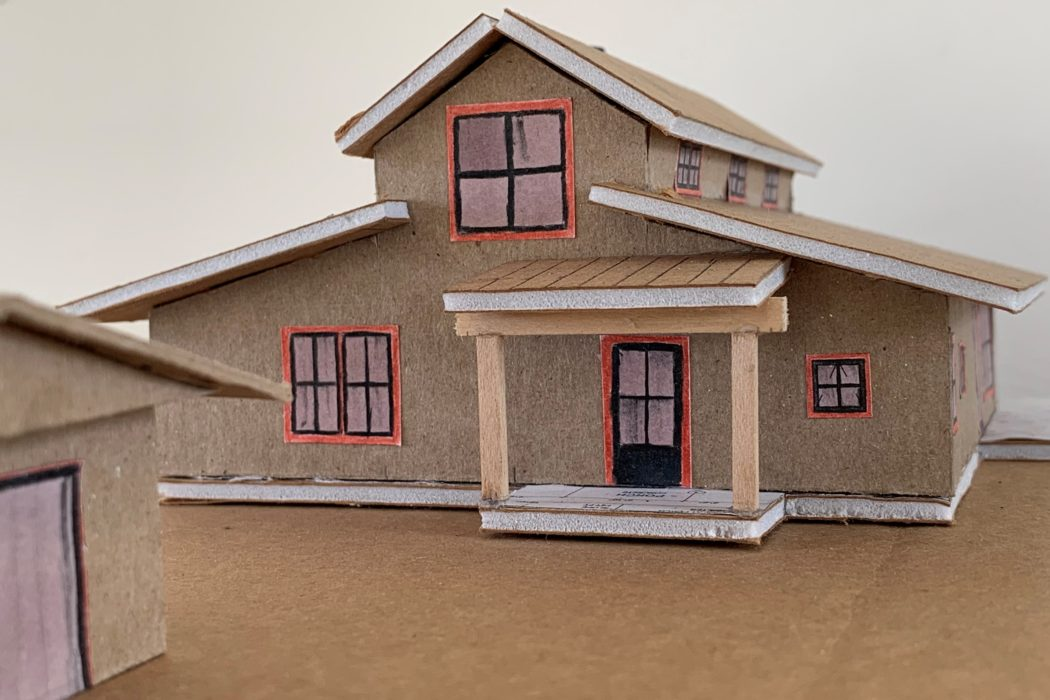 bainbridge farmhouse model