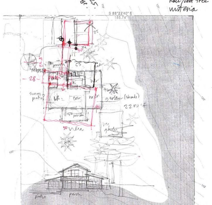 bainbridge site plan sketch