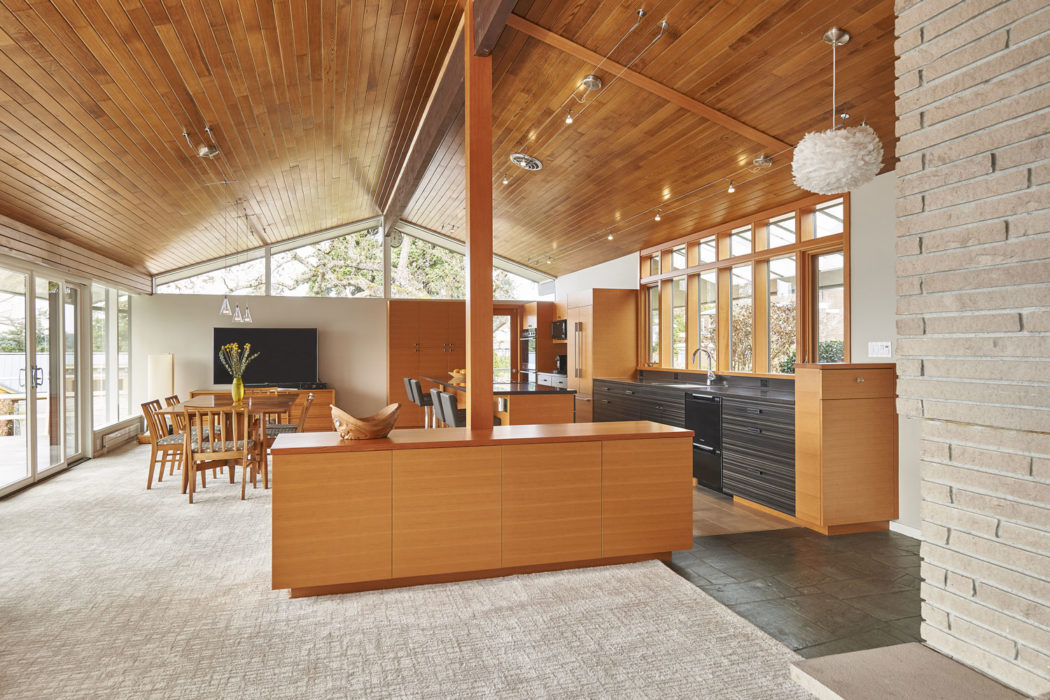 Paul Kirk Remodel - Seattle Architects - CTA Design Builders - Mid-Century, Northwest, Remodel