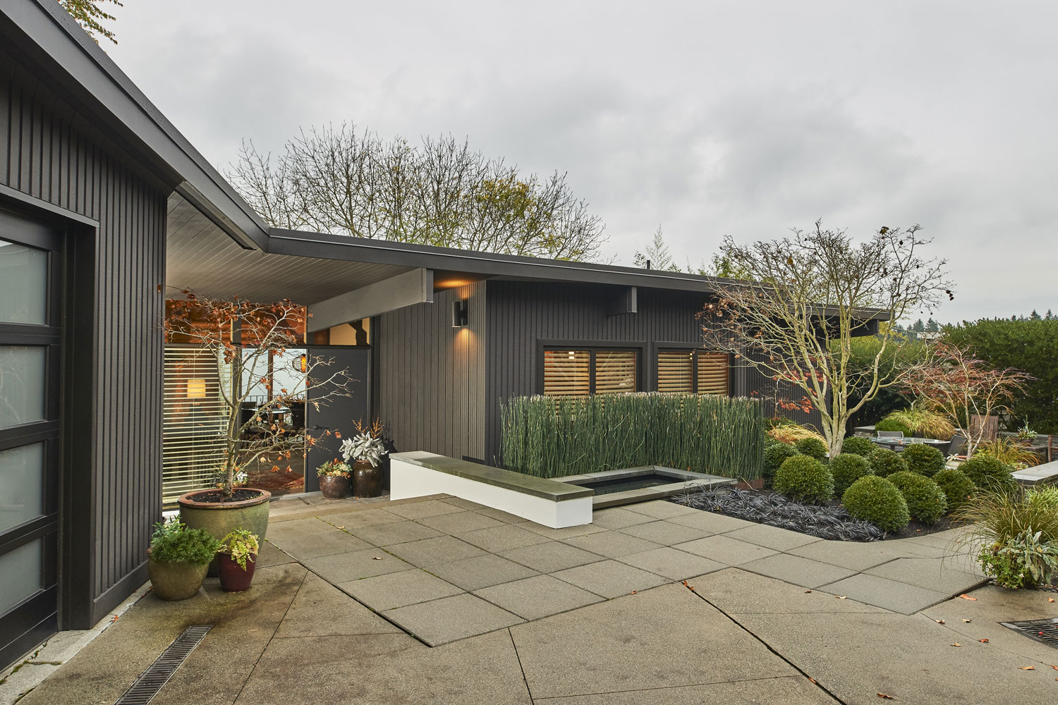 Northwest Mid-Century - Paul Kirk - Seattle Architects - CTA Design Builders - Mid-Century, Contemporary, Northwest, Remodel