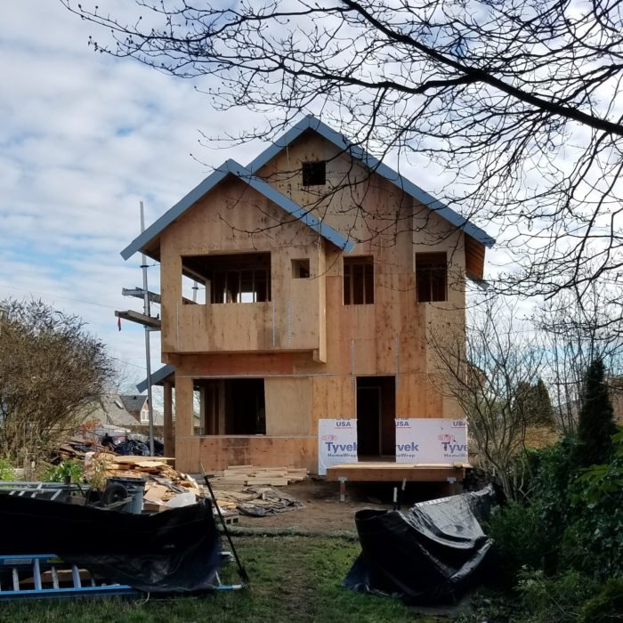 Seattle architecture new cottage addition - in progress
