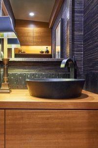 stone bowl sink